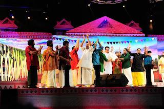 Mazhavil Azhakil AMMA show in kochi