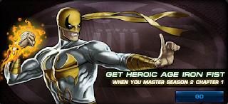 Heroic Age Iron Fist