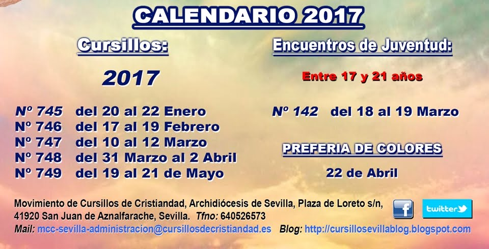 Cursillos de Cristiandad Sevilla