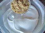 Prajitura cu blat din nuca si visine - cu crema reteta