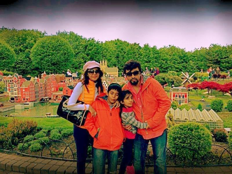 Nida Yasir Latest turkey trip with family Images