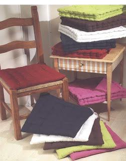 Cuscini sedia cucina tappetomania bollengo for Cuscini per sedie cucina provenzali