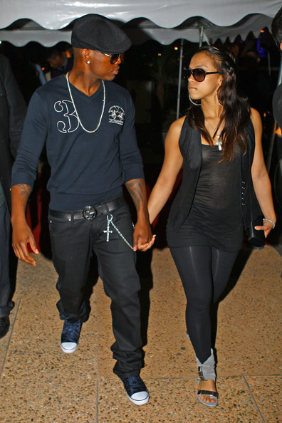 Hollywood: Ne-Yo With His Girlfriend In Pictures And ...