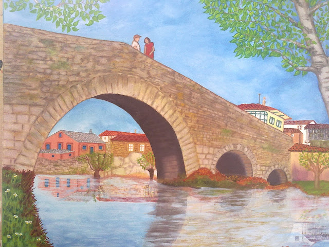 puente medieval Melide