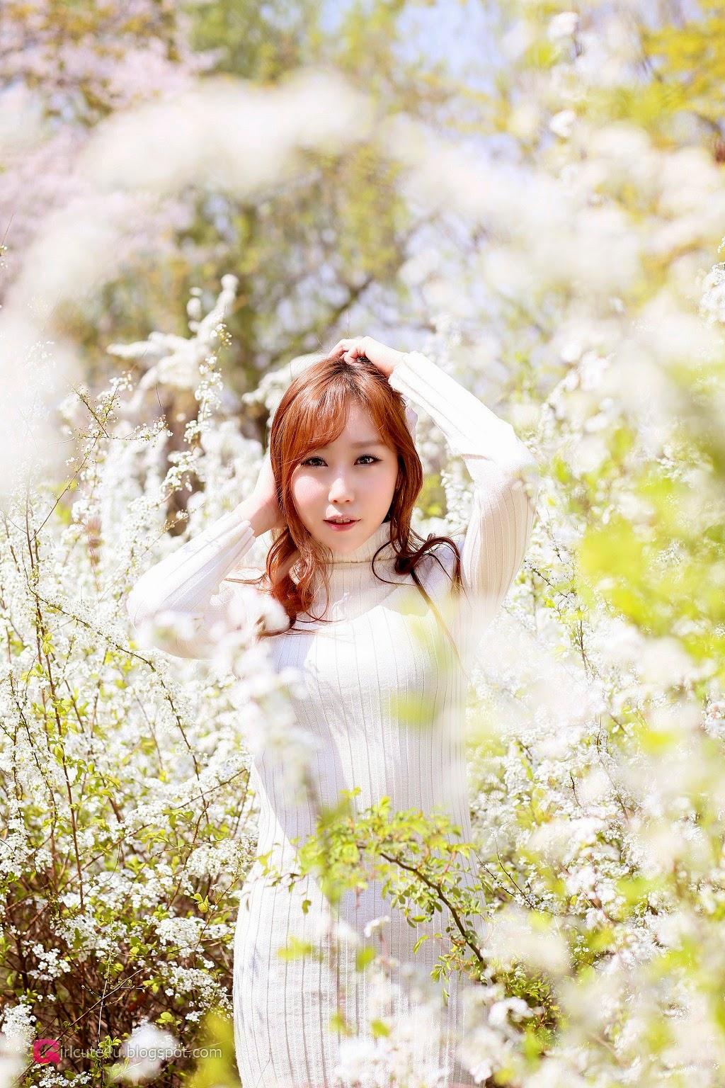 4 Kim Da On - Down By The River - very cute asian girl-girlcute4u.blogspot.com