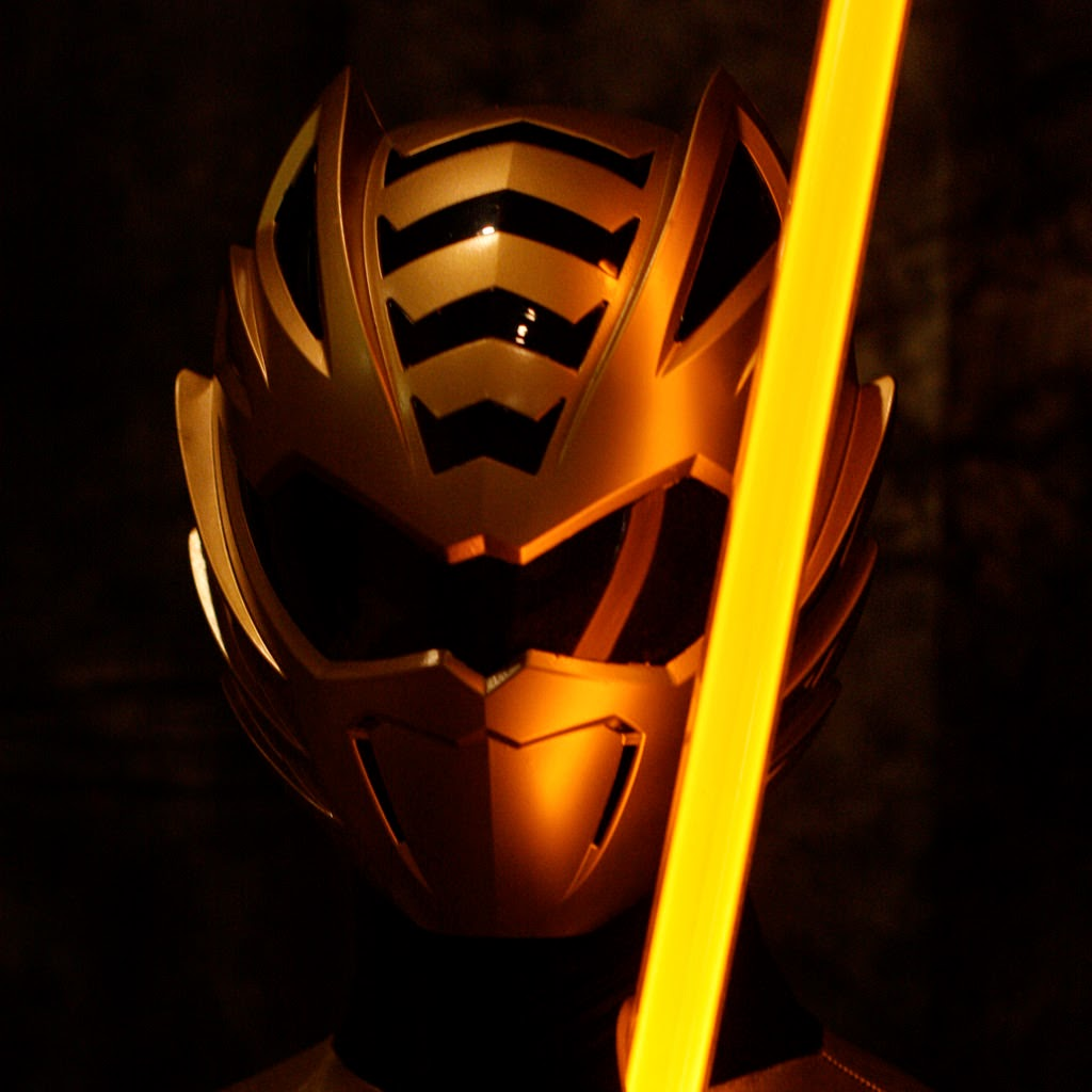 power ranger gold ranger