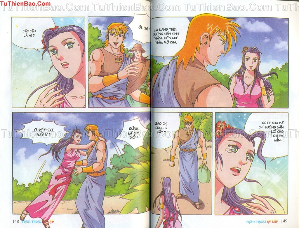 Thần thoại Hy Lạp Chapter 14 - Trang 73
