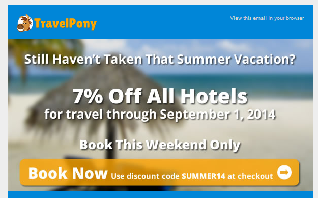 travel Pony Code promo
