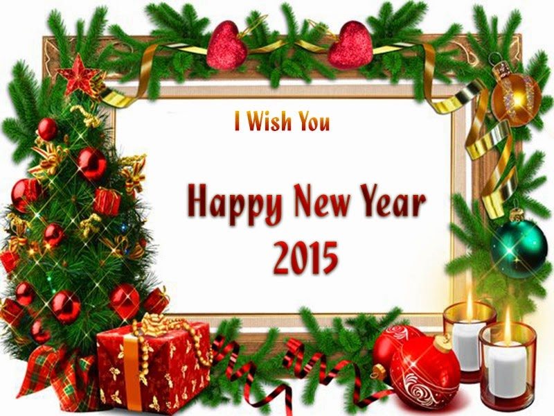Christmas Gift New Years Wishes 2015 eCard Images