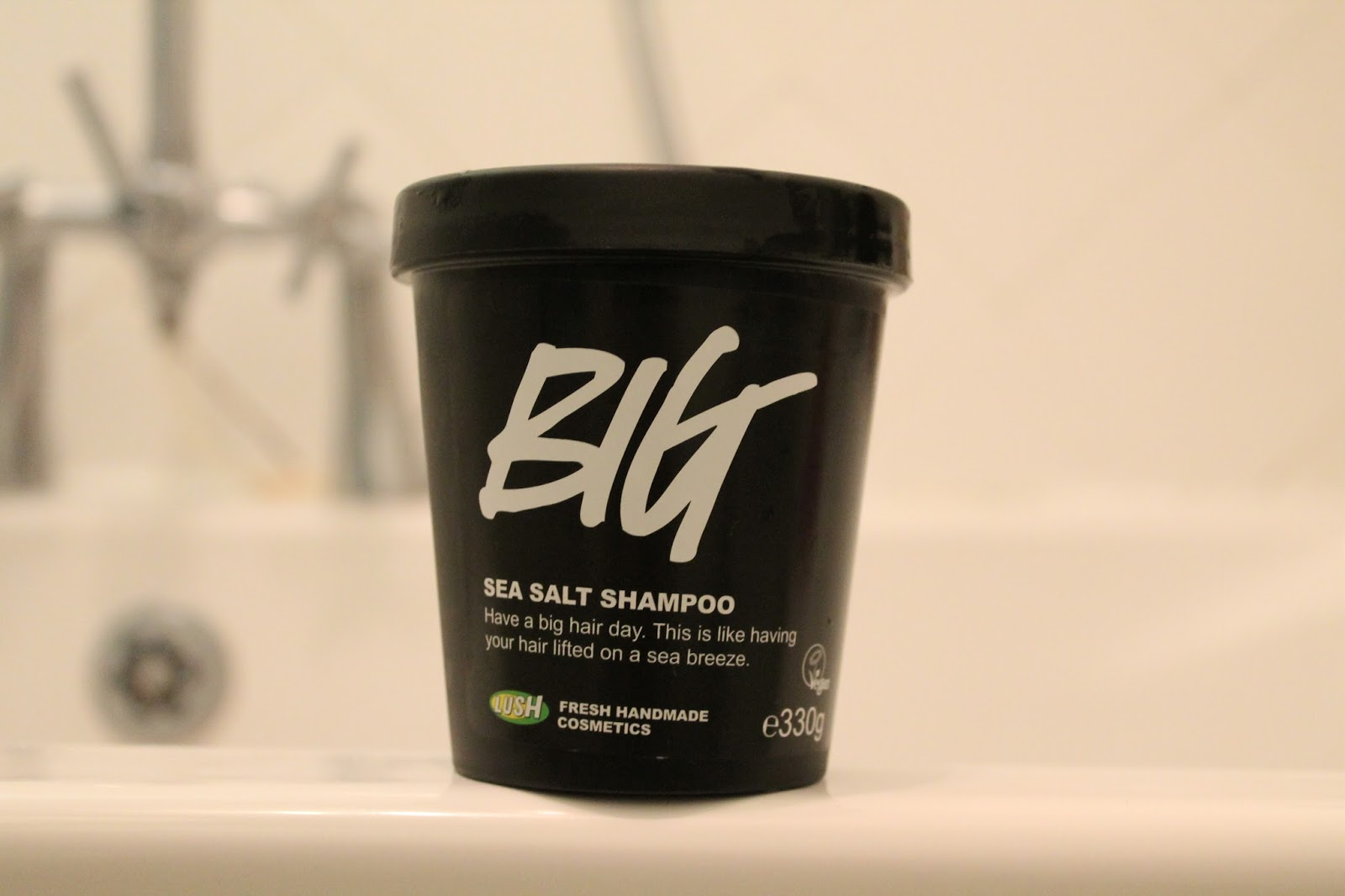 BIG Sea Salt Shampoo - Lush Review