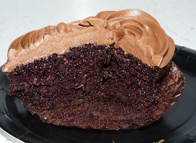 Kahlua chocolate cupcake