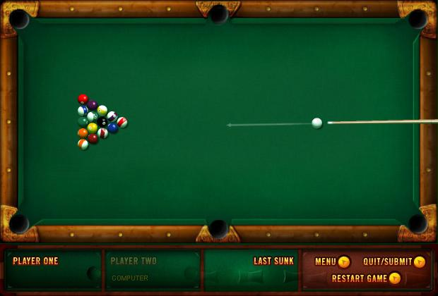 pool table games to play