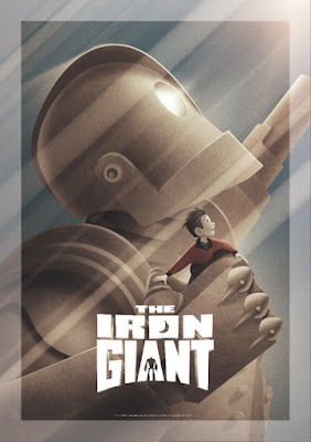 "Brad Bird ""Iron Giant Signature Edition"" Giclee Print by Dark Hall Mansion"