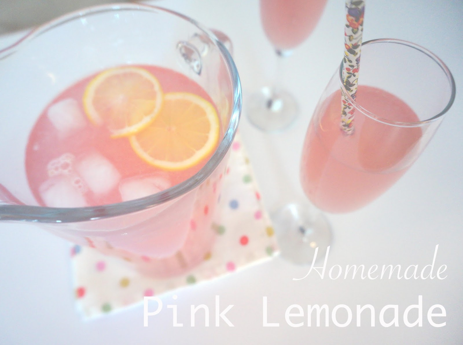 meg-made: Homemade Pink Lemonade recipe