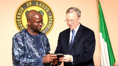 Eric Schmidt in Nigeria