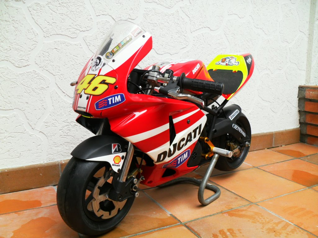 Mini Bike Ducati : Se vende minimoto polini reverce replica pocket bike