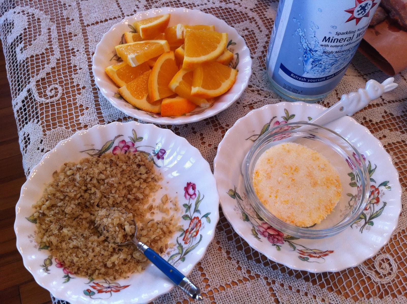 slices and orange sugar alongside. make sure you give the orange sugar ...