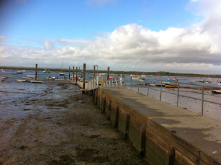 Jetty on Mersea, Essex