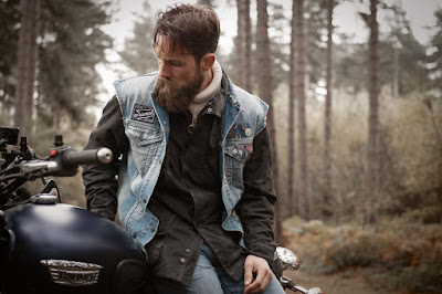 Barbour Internacional, Triumph motorcycles, Barbour, Fall 2015, british style, sportstyle, icons, Suits and Shirts, Steve McQueen,