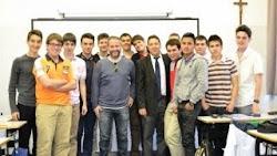 Con Gustavo Ron
