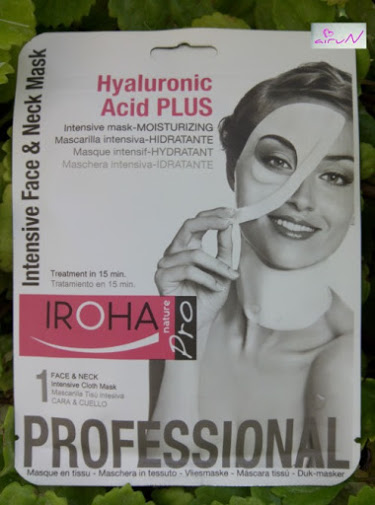 mascarilla hyaluronic iroha
