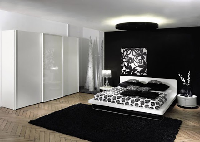 Black White And Red Bedroom Ideas  5 Small Interior Ideas ~ 015634_Bedroom Decorating Ideas Red White And Black