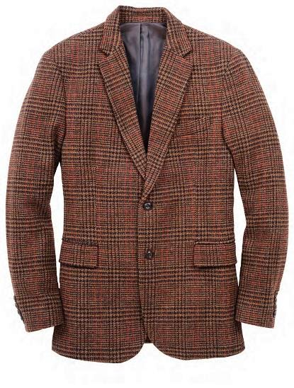 L.L. Bean Signature Tweed Sports Coat