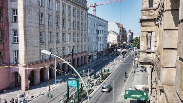 Baustelle Straßenbauarbeiten, Invalidenstraße / Chausseestraße, 10115 Berlin, 25.04.2014