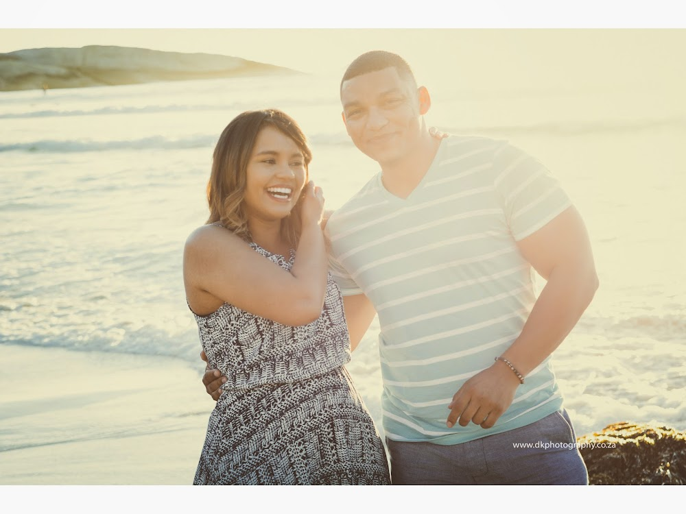 DK Photography LASTWEB-091 Robyn & Angelo's Engagement Shoot on Llandudno Beach { Windhoek to Cape Town }  Cape Town Wedding photographer