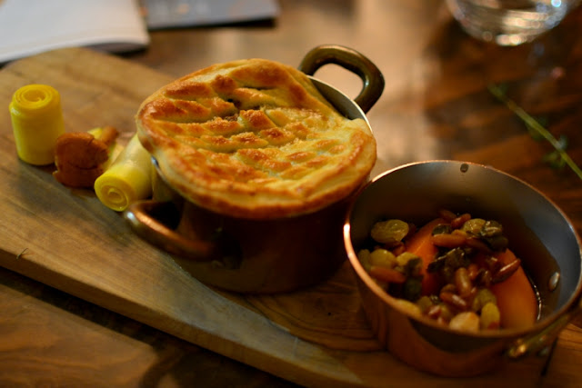 Venison Pie at Crocker's Folly in London