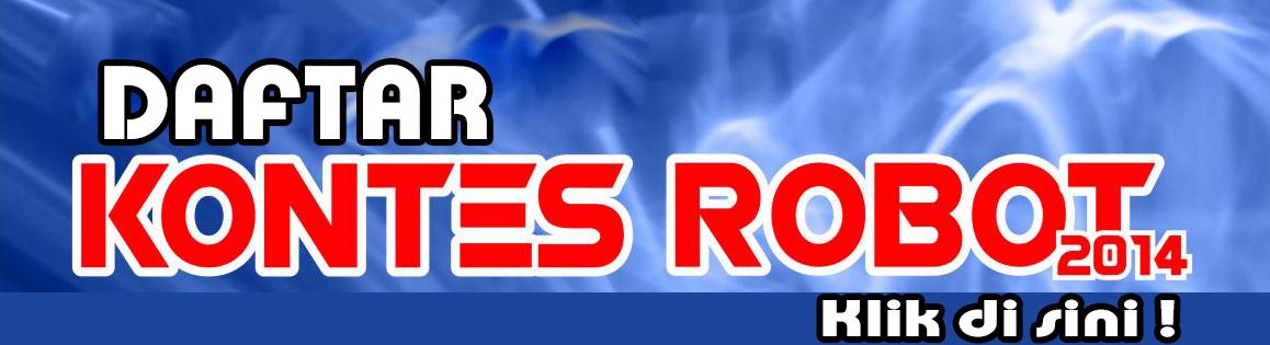 Pendaftaran Kontes Robot 2014