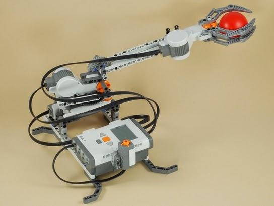 membuat robot arm denganrobot lego nxt