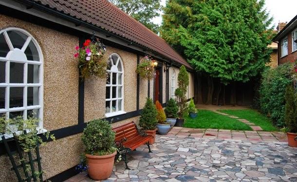 Красивые оформленные дома с фото