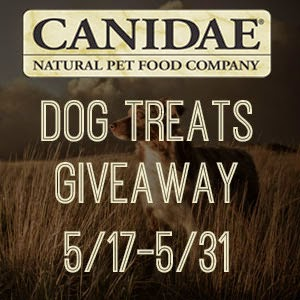 CANIDAE Dog Treats Giveaway