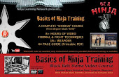 Ninjutsu DVD Blackbelt Course