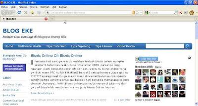 Blogger Kocak Blog Eke