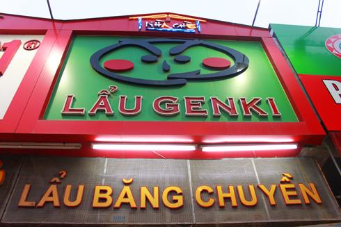 Nhà Hàng Lẩu Băng Chuyền Genki