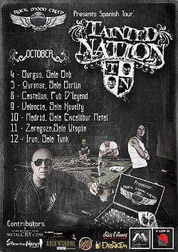 Gira por España de Tainted Nation en octubre
