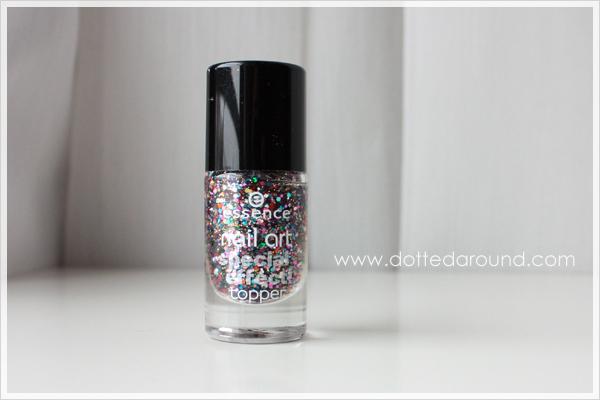 Essence Circus confetti glitter polish