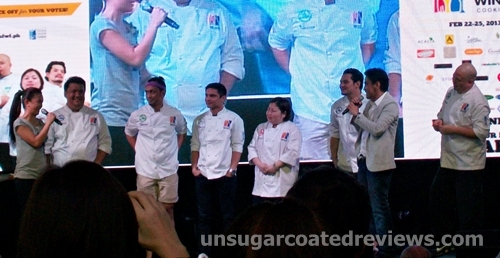 the Celebrity Chef Cook-off (Manila Food and Wine Festival 2013)