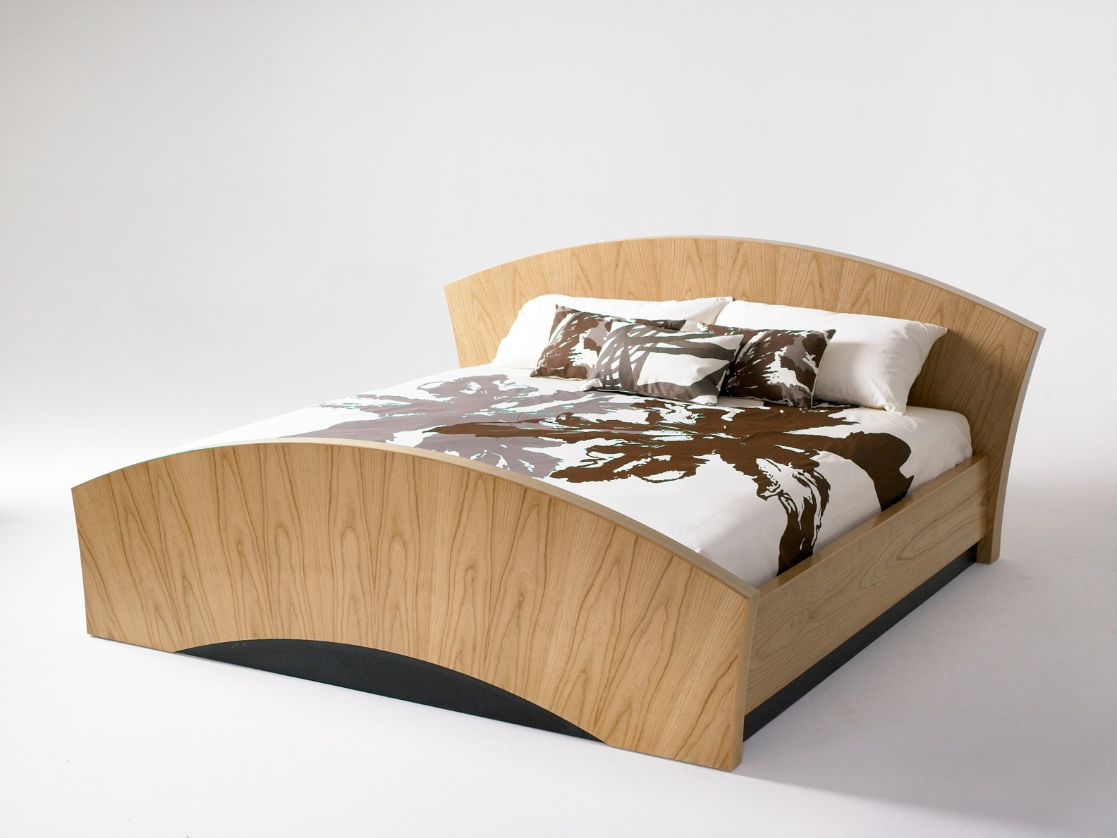 wood furniture design bed