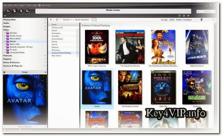 JRiver Media Center 20.0.84 Full Key,Phần mềm xem phim và nhạc đỉnh cao