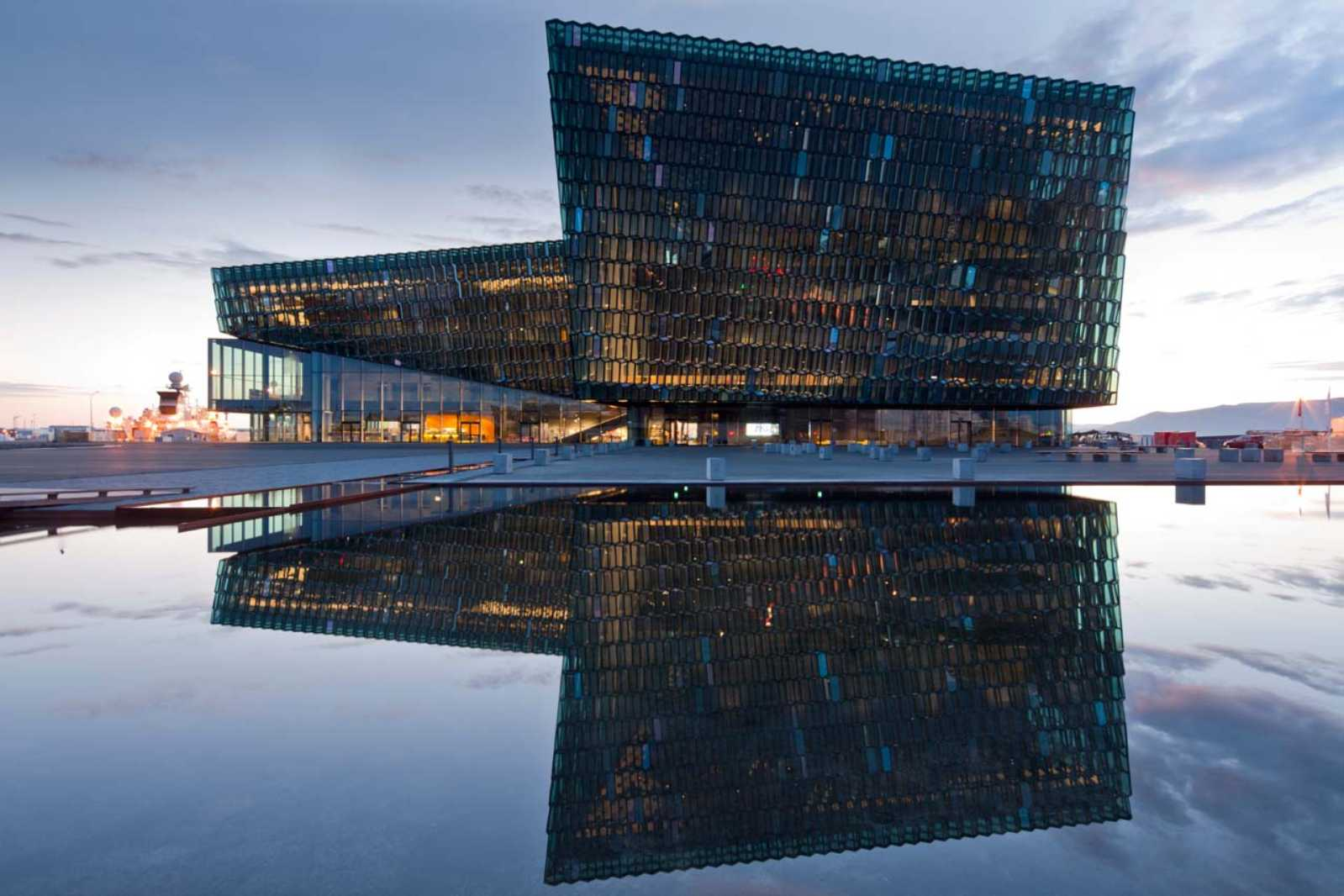 Harpa concert hall and conference centre by henning larsen