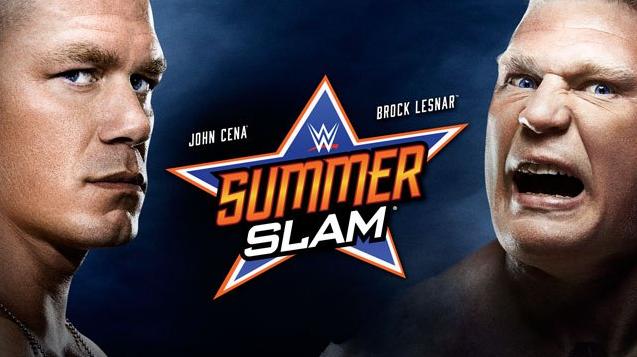 Poster oficial para el año 2014 de SummerSlam evento que será transmitido por este sitio web