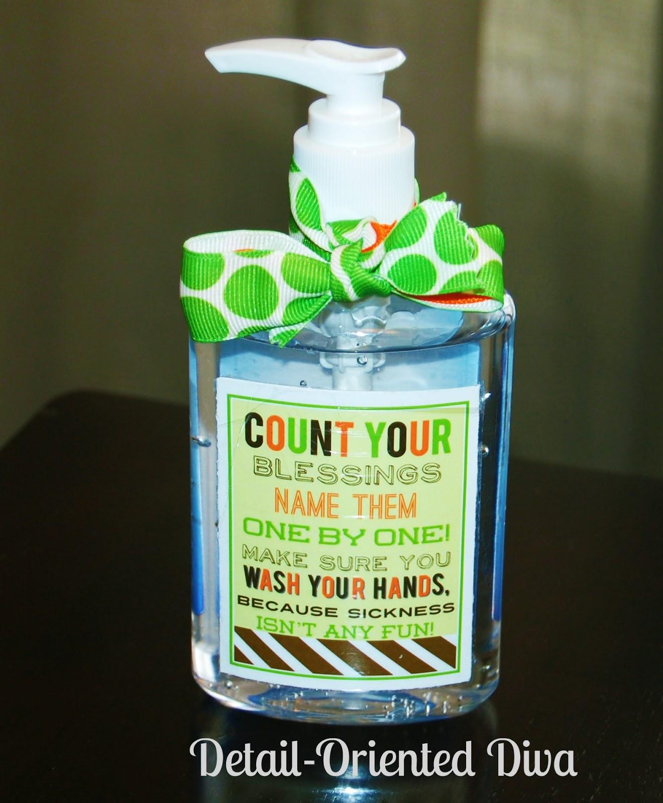 Thanksgiving Handwashing Printable