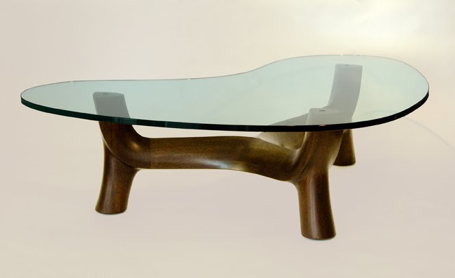 Glass Top Table By Anthony Farah