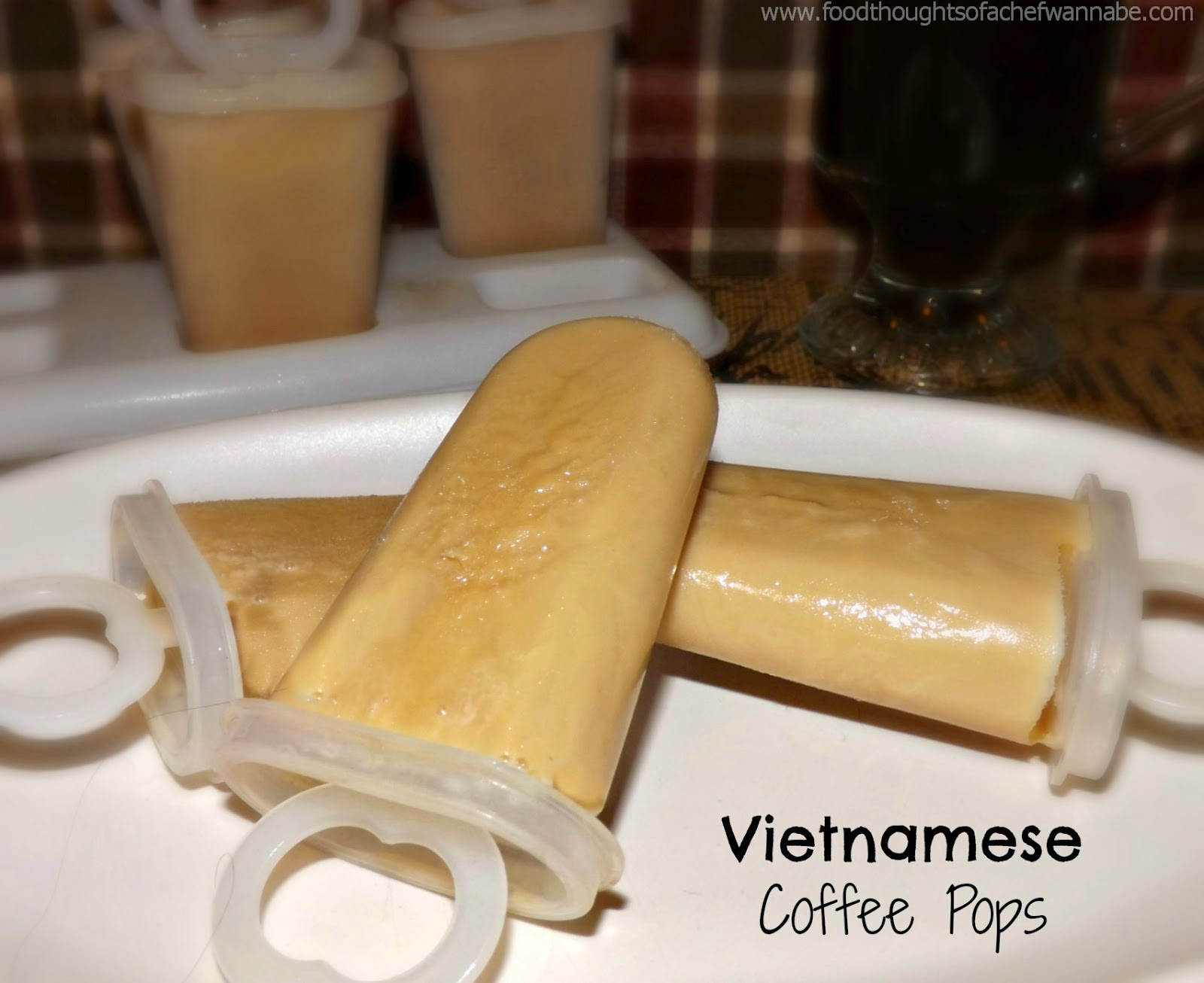 FoodThoughtsOfaChefWannabe: Vietnamese Coffee Pops