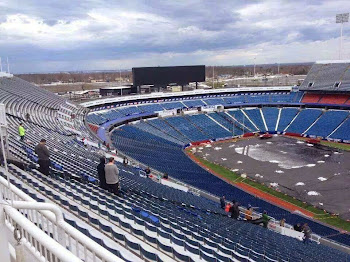 Snow Is Gone From Ralph Wilson, But Game Still in Detroit
