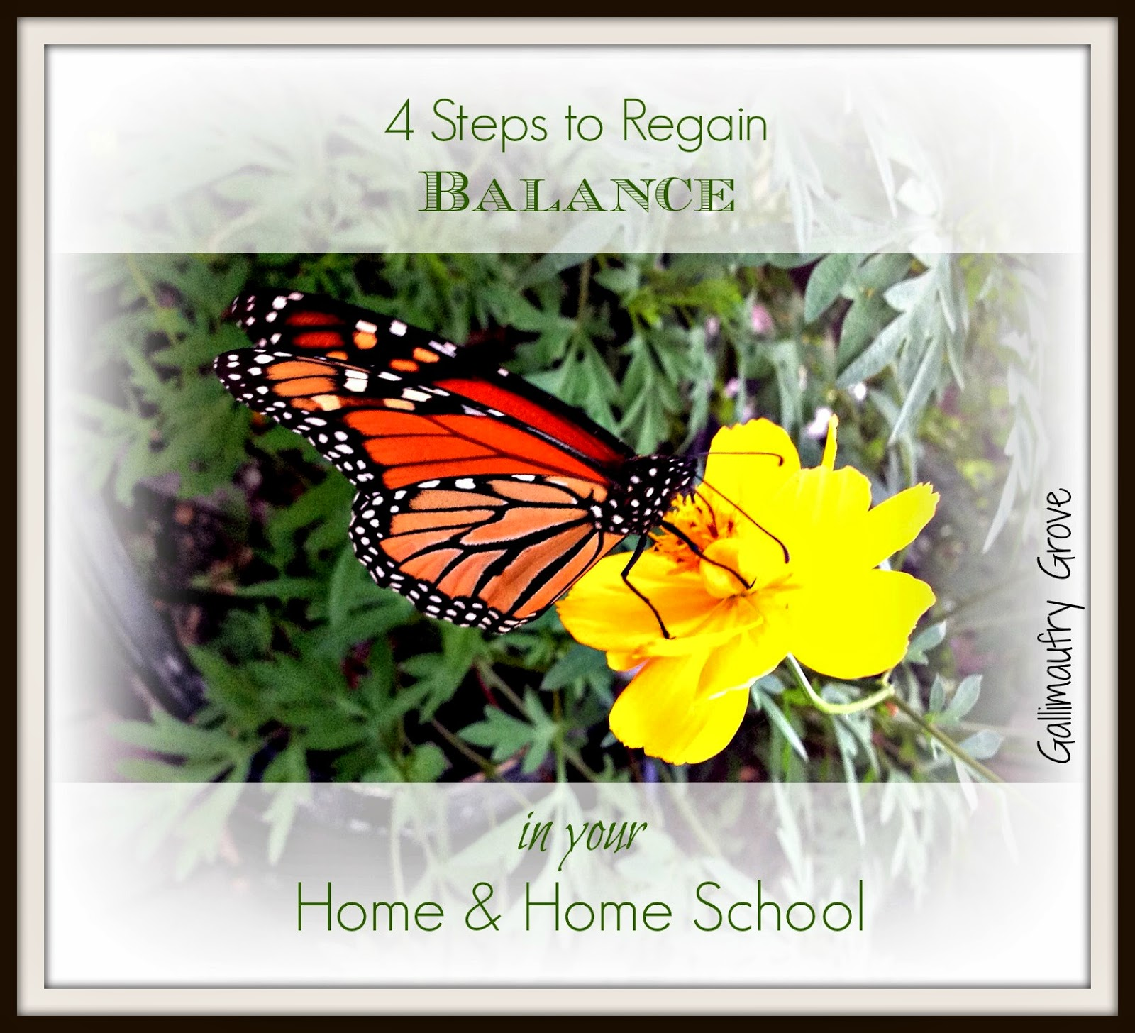 4 Steps to Regain Balance in your Home & Homeschool @hsbapost