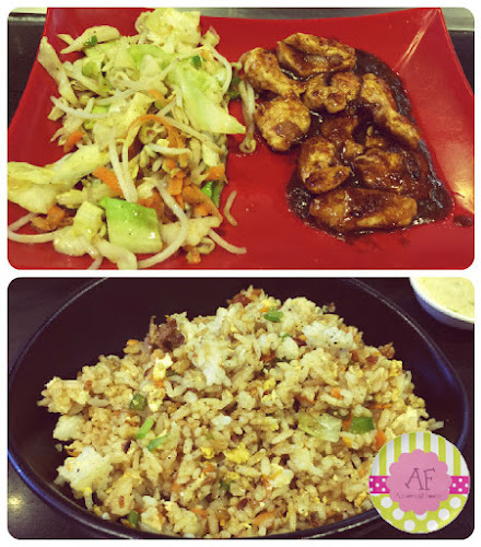 Sliced Chicken and Japanese Fried Rice